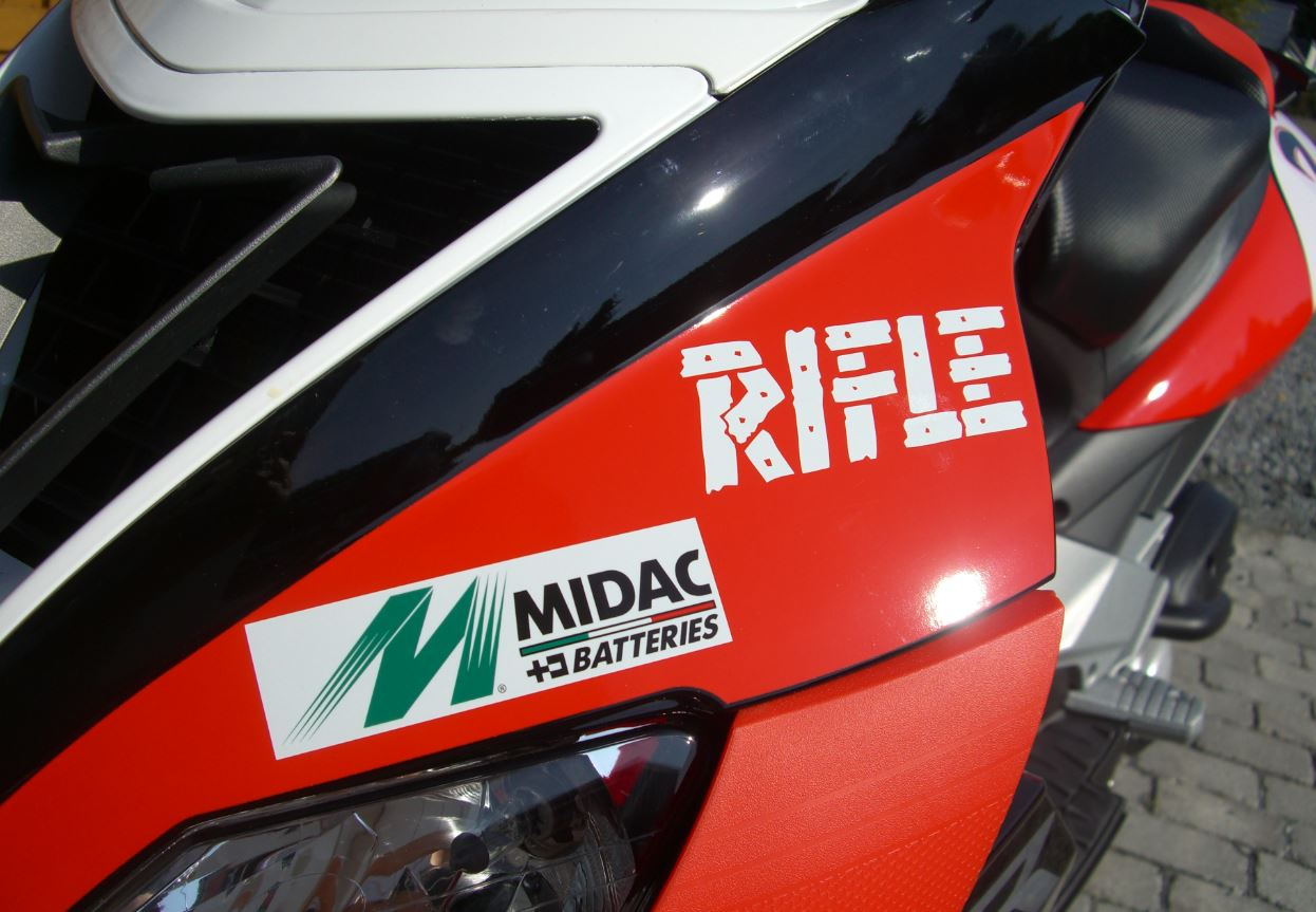 AM Aprilia Detail Rifle